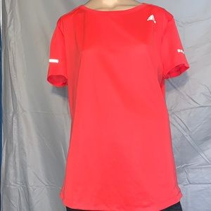 Pink adidas running shirt